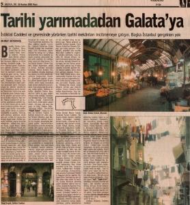 Tarihi yarımadadan Galata'ya