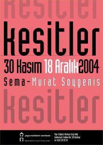 Kesitler 1991-2004 / Sections 1991-2004